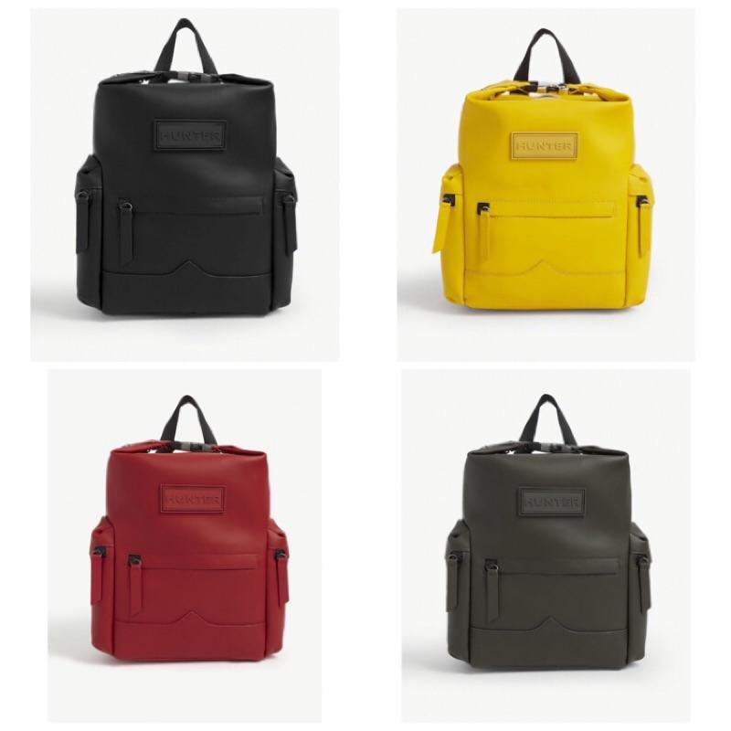 免運🔜英國🇬🇧直購💯正品Hunter Leather Mini Backpack 橡膠皮革防水後背包包