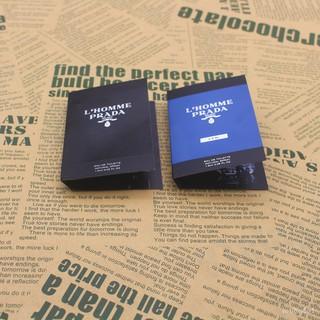 全新 正品 Prada普拉達 L'Homme 新款同名蔚藍紳士淡香水噴瓶試香小樣1.5ml 雲林縣