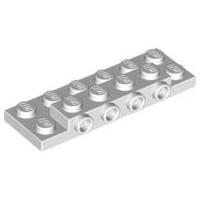 玩樂趣 LEGO樂高 87609 白色 2x6x2/3 with 4 Studs on Side