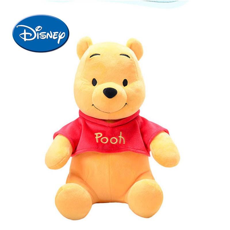 DISNEY 迪士尼卡通 Winnie Lilo 小豬軟毛絨毛絨公仔生日節日禮物