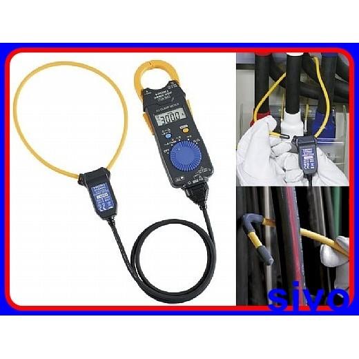 日本HIOKI 3280-10F交流鉤錶 + CT6280軟式鉤部可測到4200A