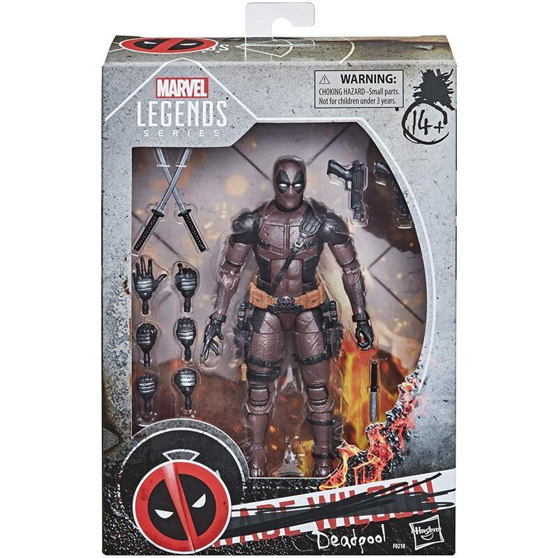 全新現貨 Marvel Legends 漫威 死侍 電影版 戰損版 灰黑死侍 x-men x戰警 限定 6吋 可動