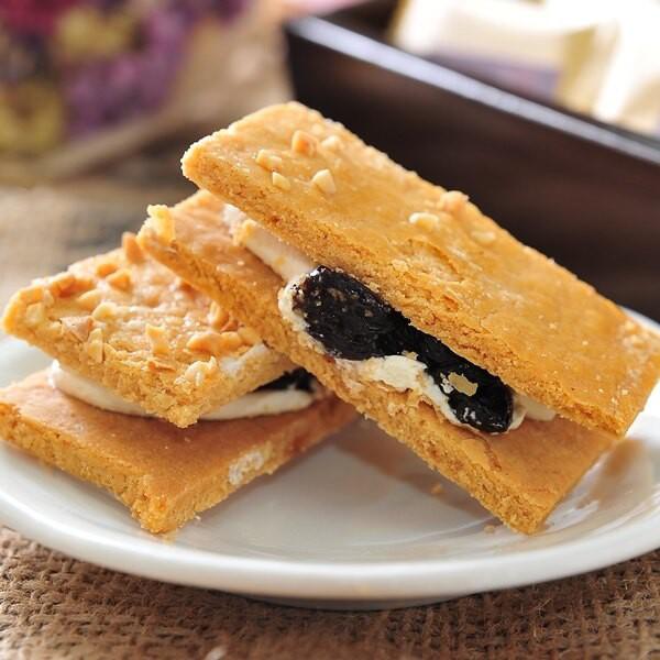 百佳(龍泰)烘焙坊- 免運 加州三明治葡萄餅乾12入/盒