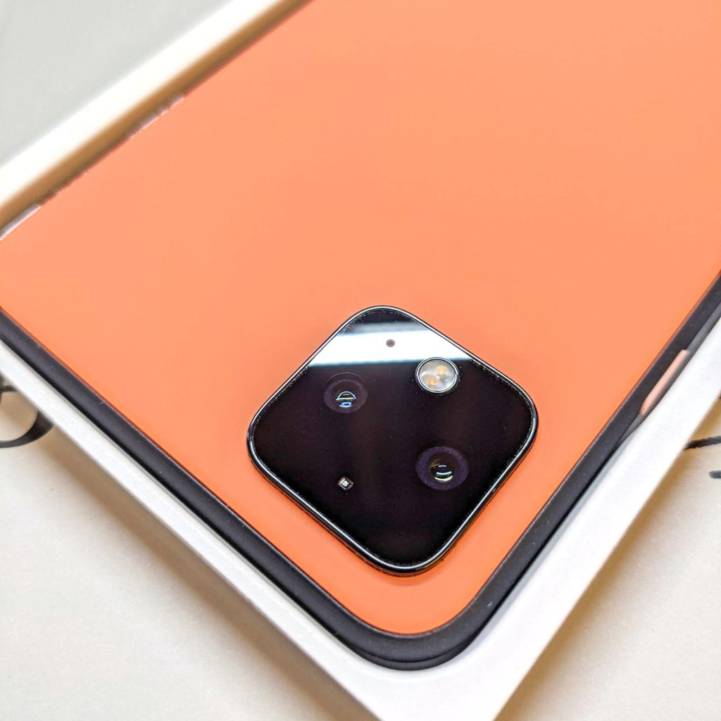 [二手現貨98新] Google Pixel 4XL 限量版橘色 128GB X 白白日記