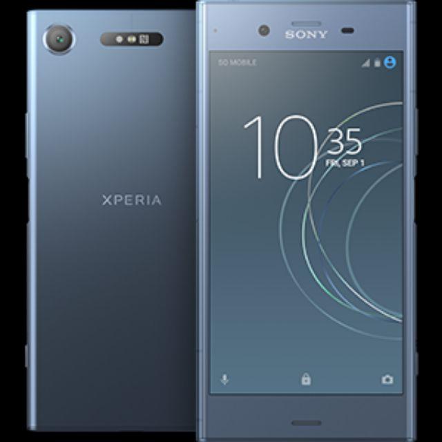 Sony xperia xz1 水藍 64GB附贈一台htc平板