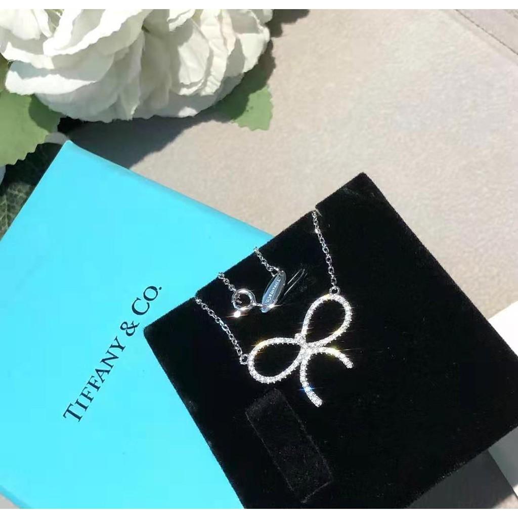 TIFFANY & Co.   蝴蝶結項鏈   明星同款