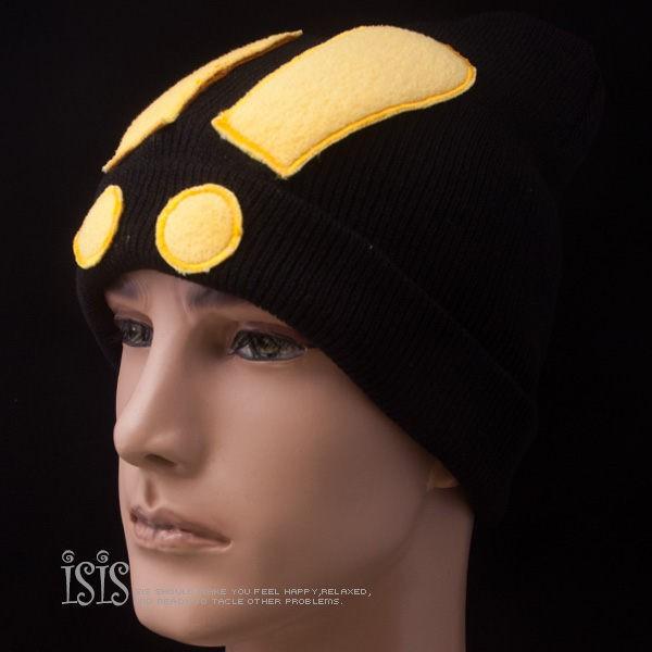 KURO-SHOP秋冬新品 黑色驚嘆號 針織帽