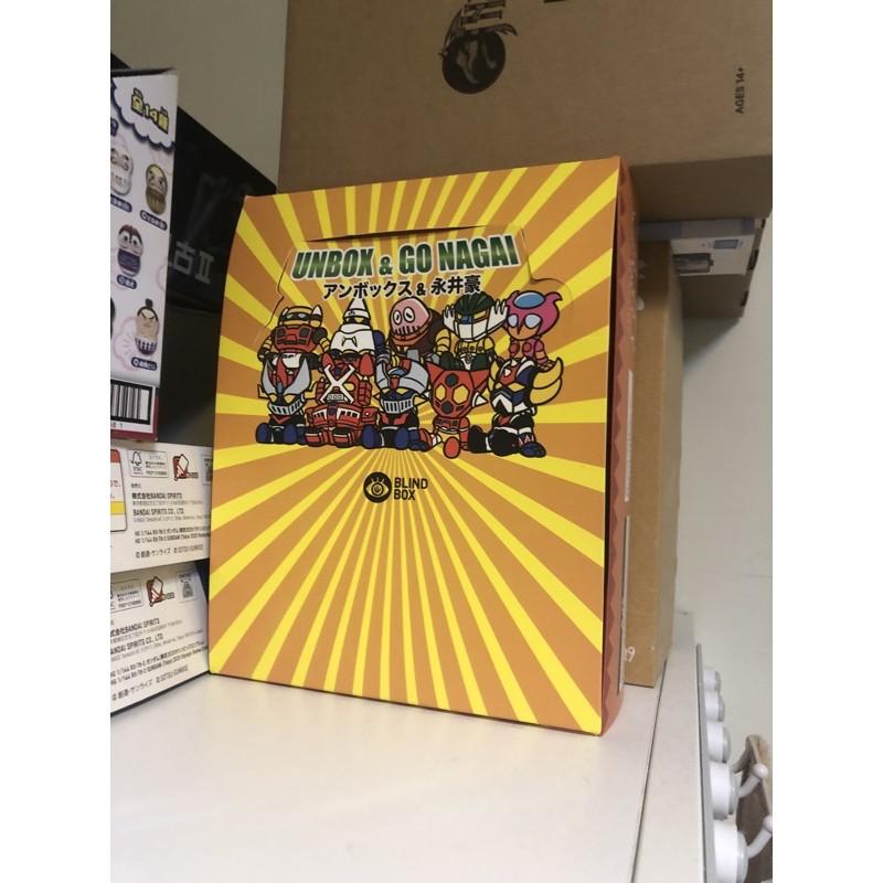 現貨 正版  Nagai x Unbox 盒玩 Unbox 永井豪聯名 無敵鐵金剛