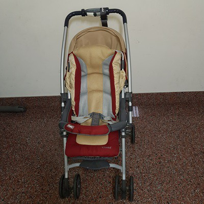 Combi TM 359DX AB型 全罩 雙向推車 可平躺 單手秒收 嬰兒車 二手 手推車