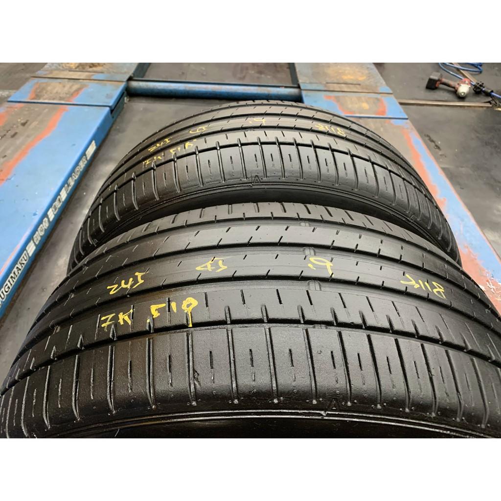 *正順車業* 中古輪胎 中古胎 落地胎 維修 保養 底盤 型號245 45 19 飛隼 FK510 兩條