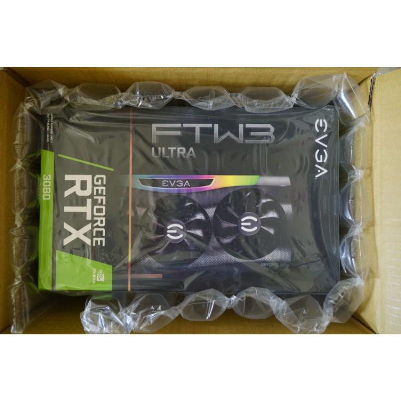 EVGA GeForce RTX 3080 FTW3 ULTRA GAMING, 10G-P5-3897-KL, 10G
