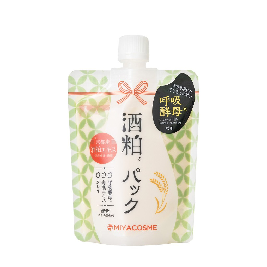 【MIYACOSME】酒粕面膜 170g