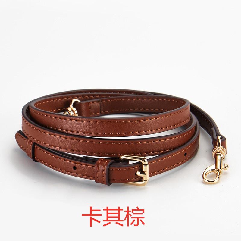 適用于蔻馳coach貝殼包帶草莓包波士頓包替換肩帶單肩斜跨斜背帶.