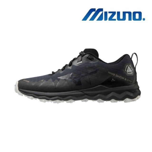 MIZUNO 美津濃 WAVE DAICHI 6 GTX 一般型 男款 慢跑鞋 黑丈青 J1GJ215642