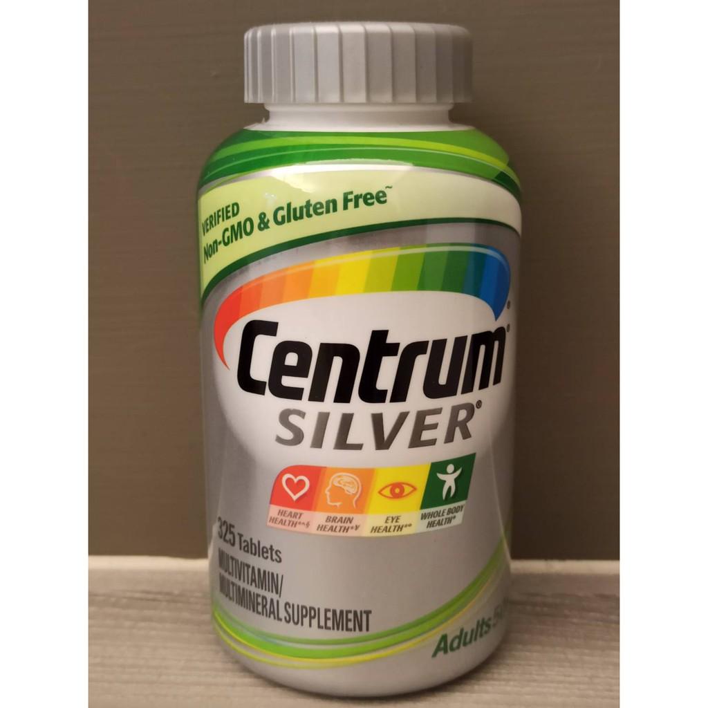 美國COSTCO 原裝銀寶善存50歲綜合維他命Centrum Silver Adults 50+ 325顆