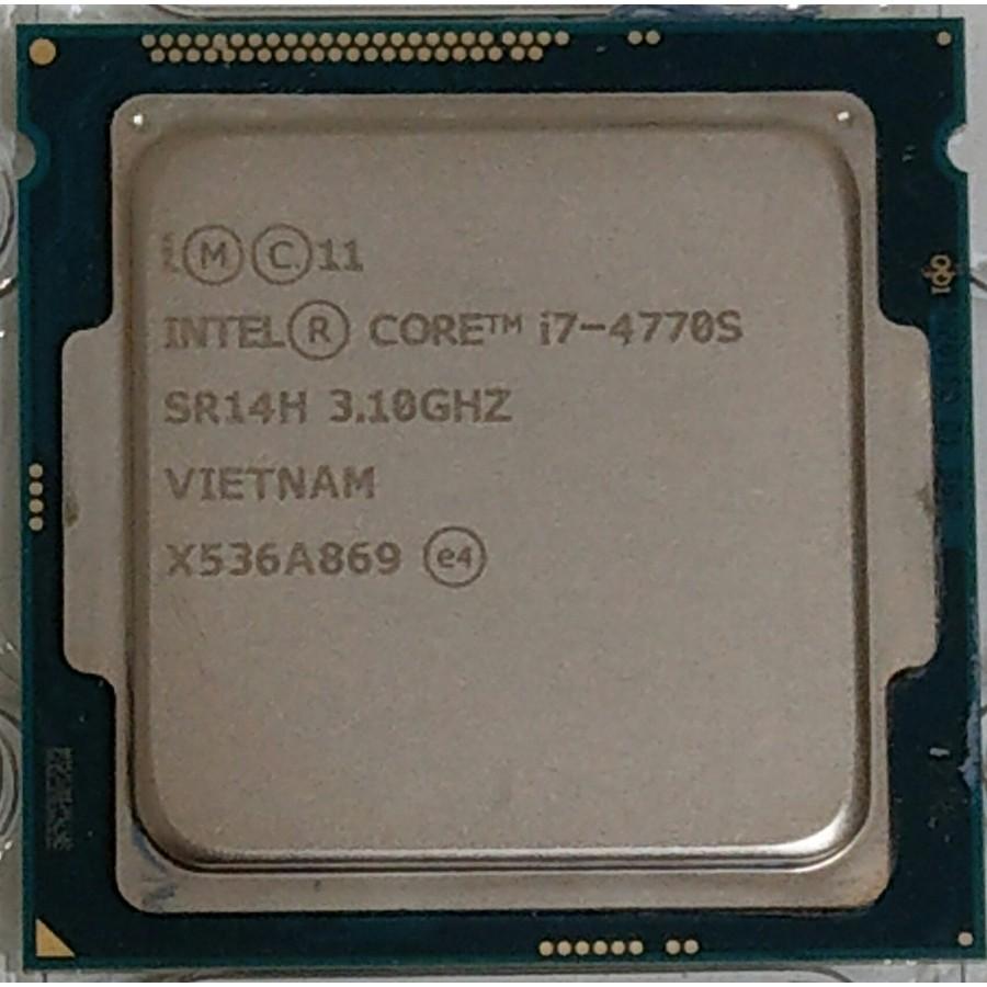 Intel core 四代 i7-4770 4790 4790S CPU (1150 腳位) 附原廠銅底風扇