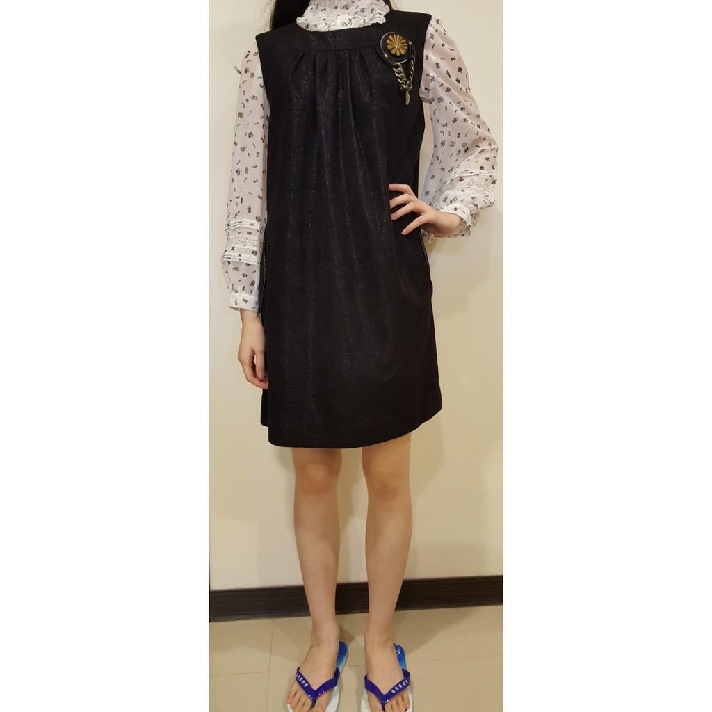 破盤價! 台灣知名設計師Anita Su黑色俏麗洋裝