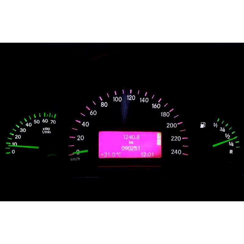 *鎮鋒LED 專業車用儀表改裝* 賓士 BENZ W203 C230 改儀表燈 儀表板 儀表燈 空調 按鍵 改色