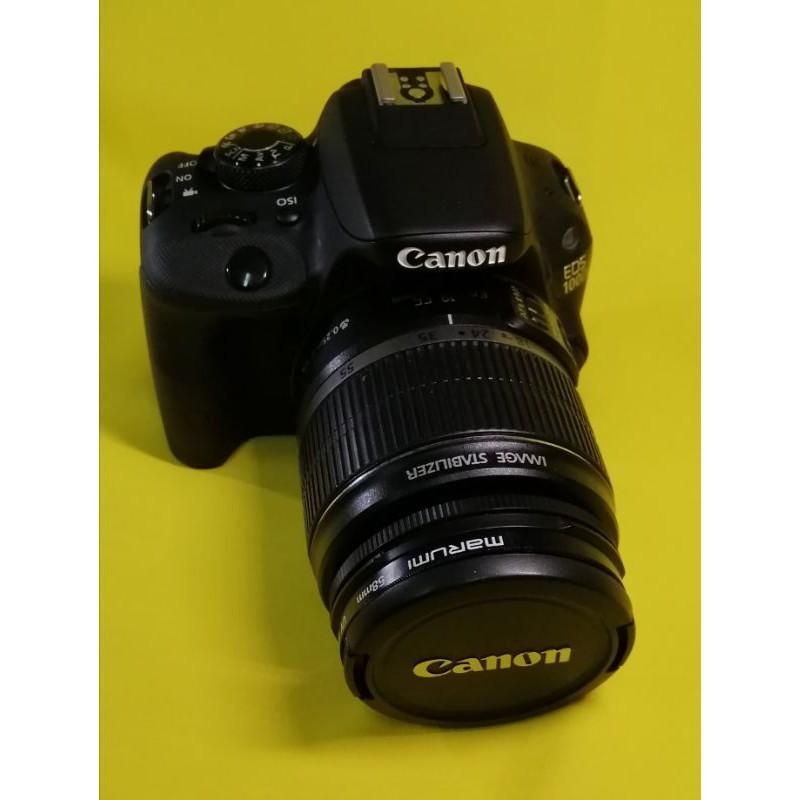 二手單眼相機/Canon  100d/kit組/少用極新/最輕巧單眼