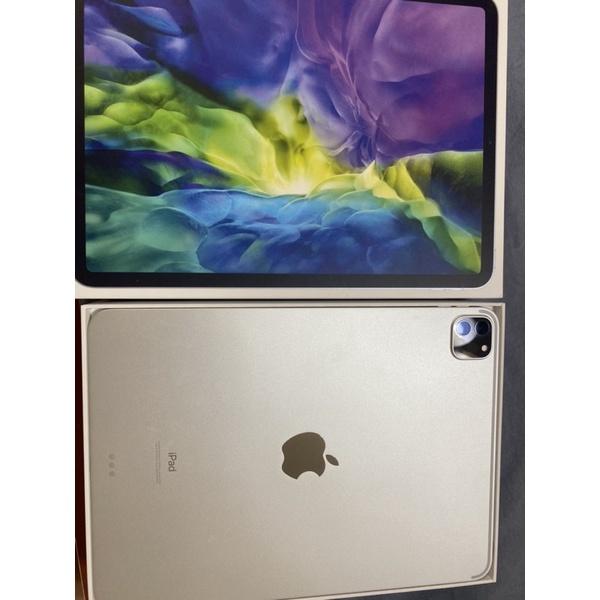 iPad pro 2020 二代11吋 128g WiFi 銀色 二手(螢幕已貼類紙膜