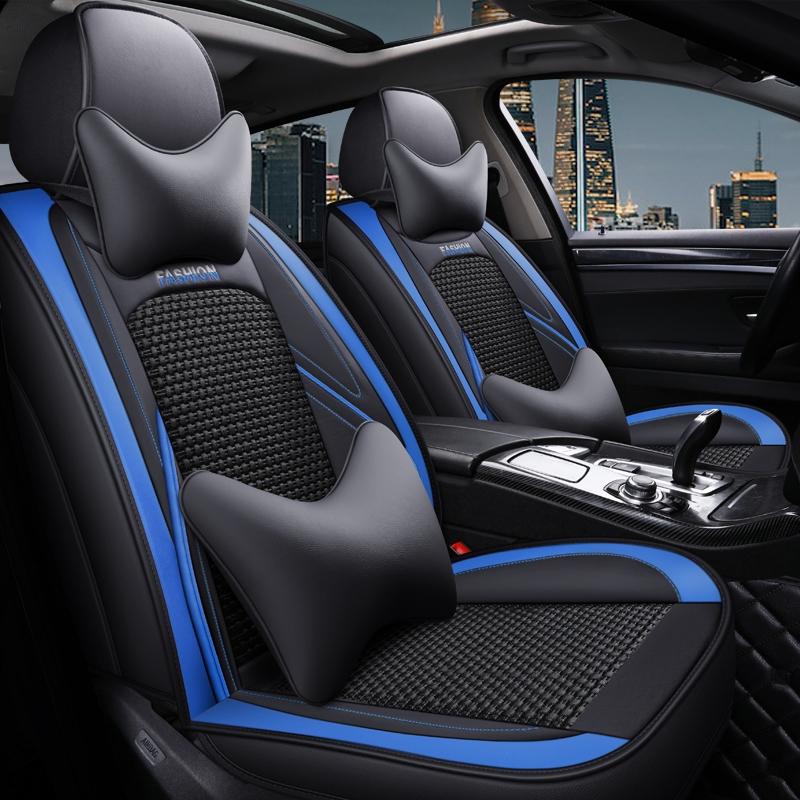 汽車座椅套Ford Focus Kuga FIesta ECoSport MUstang EScape坐墊座套