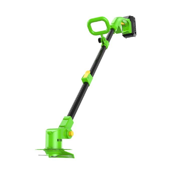 家樂美(G12)割草機 打草機 鋰電池割草機 除草機 - 充電器+12V電池+5刀片+防護罩