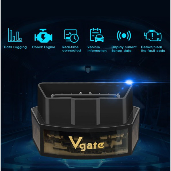 安卓蘋果雙用 Vgate icar pro 藍芽汽車診斷器 ELM327 obd2 水溫 電壓 消除故障碼 icar3