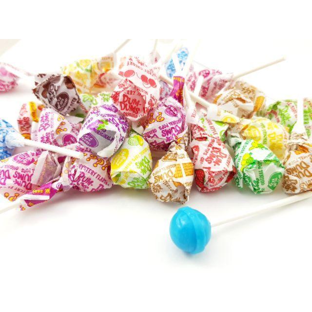 嘗甜頭 附發票 17種口味 DUM DUM棒棒糖 200公克 水果棒棒糖 美國進口棒棒糖