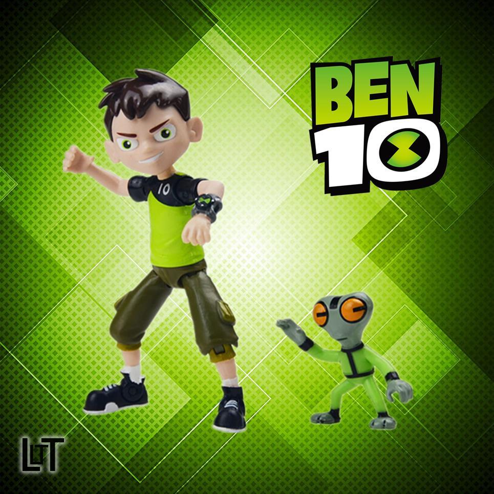 LT⭐正版少年駭客BEN10人偶玩具小班鉆石戰神火焰人轟天雷四手勁霸王