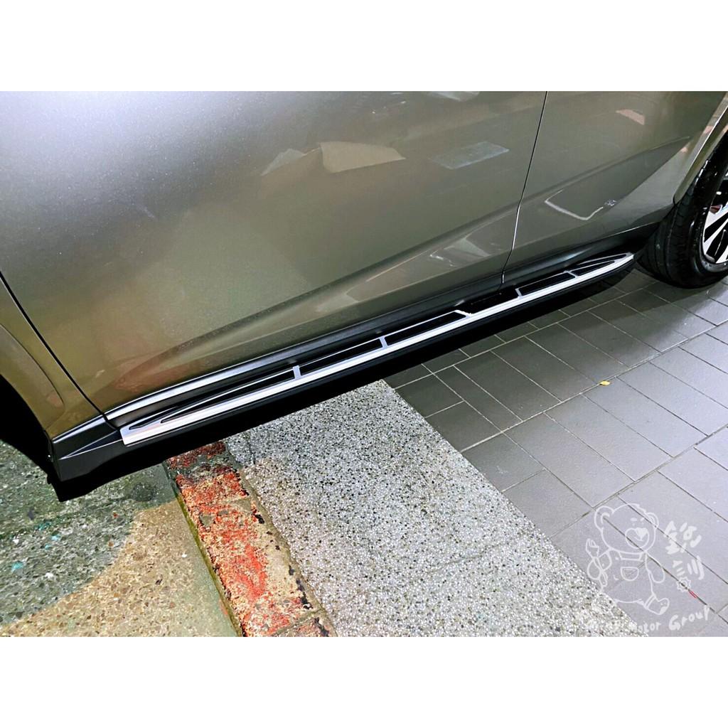 銳訓汽車配件精品 LEXUS NX200t 安裝專用鋁合金原廠型車側踏板 RX200t RX300