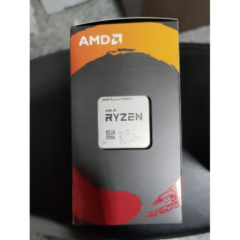 AMD 5900X 台灣公司貨 全新未拆現貨