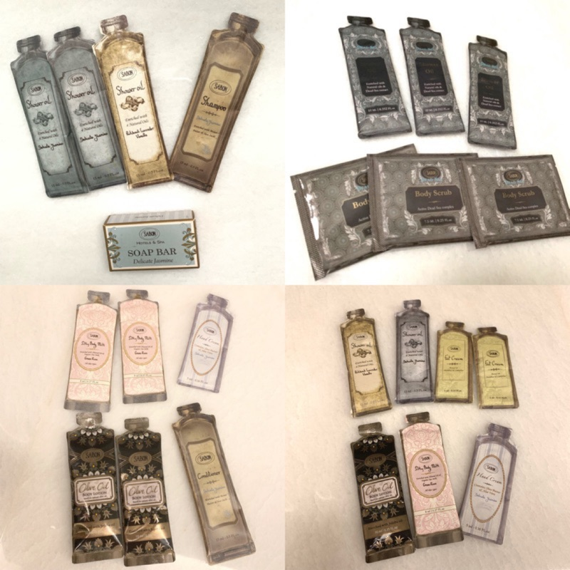 可刷卡 Sabon 沐浴油 洗髮乳 潤髮乳 護手霜 香氛皂 試用包 沐浴乳 香皂 茉莉花語 棕欖油 經典 磨砂膏 護足霜