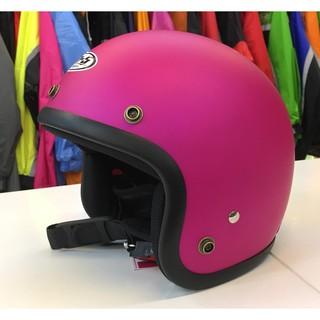 林森●GP-5安全帽,半罩安全帽,3/ 4帽,復古帽,小帽體,D303,消光桃 新北市