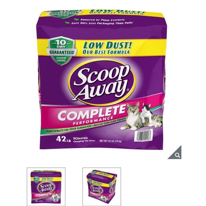 Costco 好市多代購 Scoop Away 超凝結貓砂 19公斤