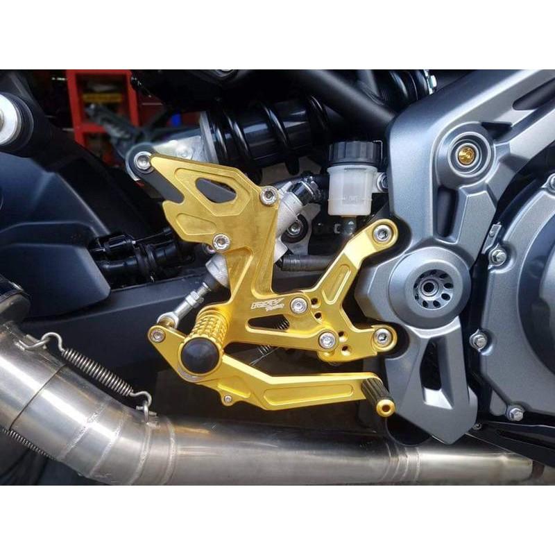 【玩車基地】RSV Racing Z900 CNC 後移腳踏 腳踏後移