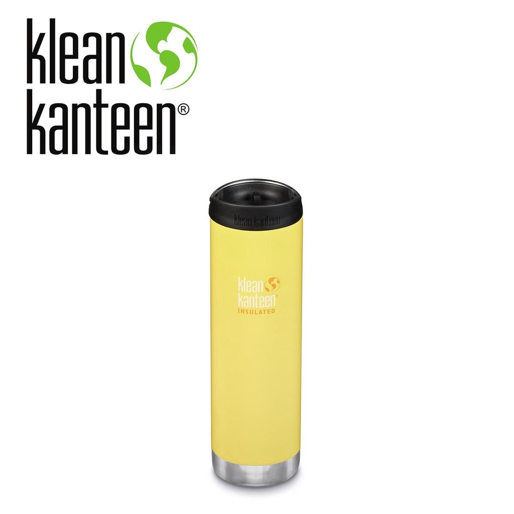 【Klean Kanteen】寬口即飲不鏽鋼保溫瓶 毛莨黃 (592ml) K20TKWPCC