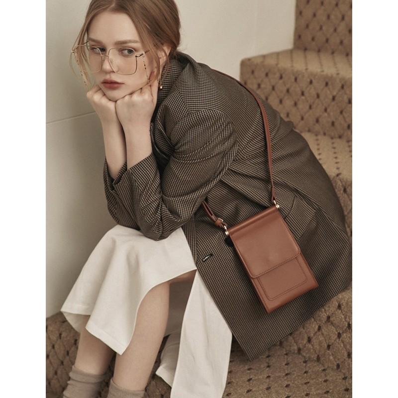 (3月底補貨)預購 韓國設計品牌 | 質感卡層式小方包 - 5 color