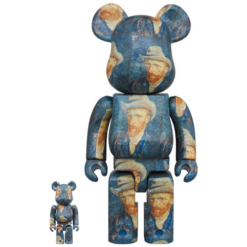 Be@rbrick 庫柏力克熊 Van Gogh Museum 1000 % 400 % 梵谷 berabrick 熊