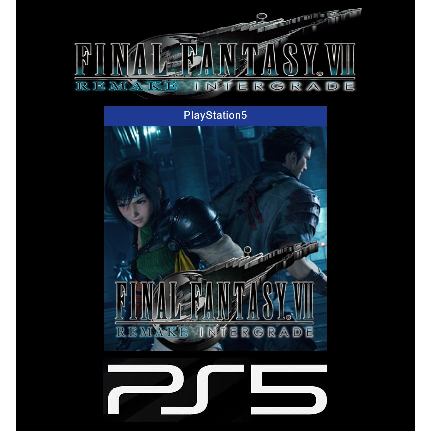 SONY PlayStation5 PS5 Final Fantasy VII 重製版 太空戰士7 PS5 強化版