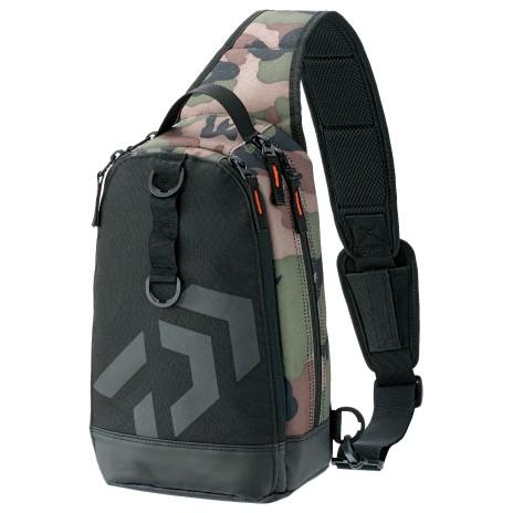 DAIWA 肩背包 ONE SHOULDER LT (C) 灰迷綠 斜背包/側腰包 另有黑色