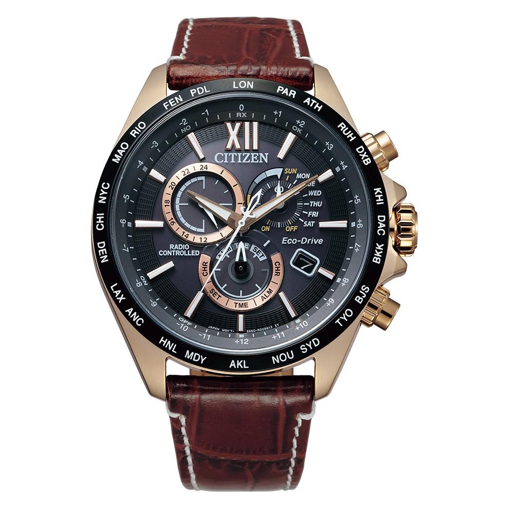 CITIZEN星辰 CB5839-15E 光動能電波對時時尚男錶 廠商直送 現貨