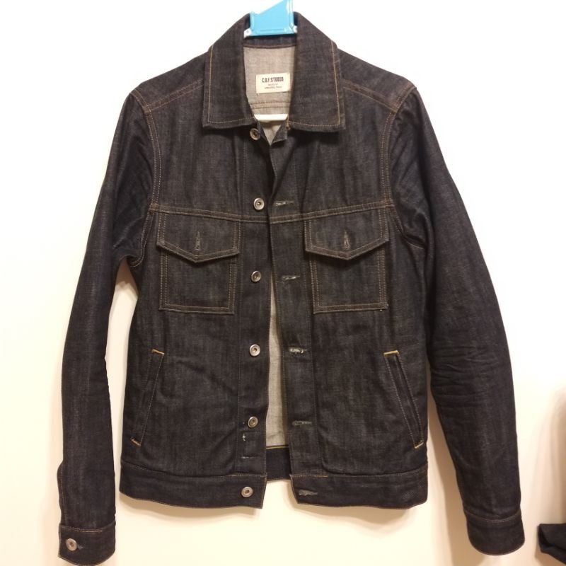 COF Studio Standard Jacket 二手 XS 赤耳布邊 原色牛仔外套 13oz Type 3 三代