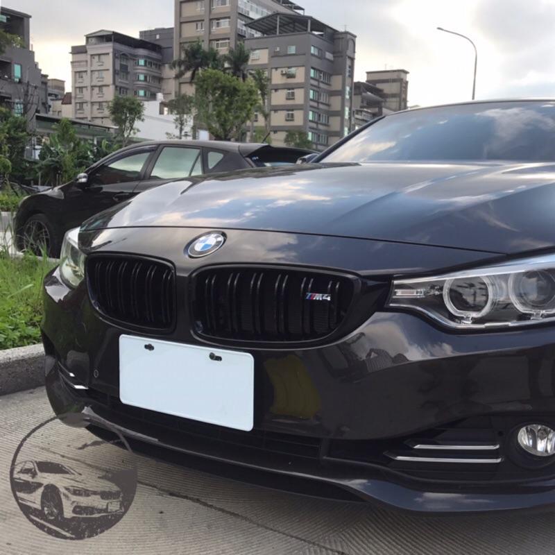 BMW F32/F82/F36 黑鼻頭 台灣製 水箱罩 附小M4標 4系列通用 420 428 M4 4gc