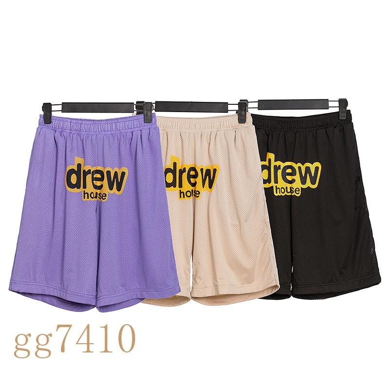 Drew house drewhouse JustinBieber  比伯同款笑臉印花短褲  Drew五分褲