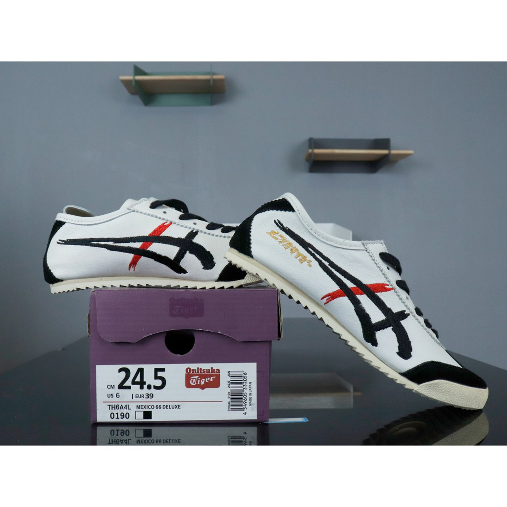 buy online 5d595 46765 Onitsuka Tiger Mexico 66 Deluxe 鬼冢虎日產 TH6A4L-0190 白黑紅