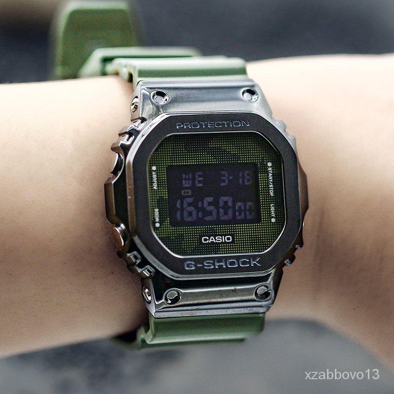 新款卡西歐 G-SHOCK GM-5600B-3/1/3/S5600/G-7/PG-4電子運動男腕手錶 CZsE
