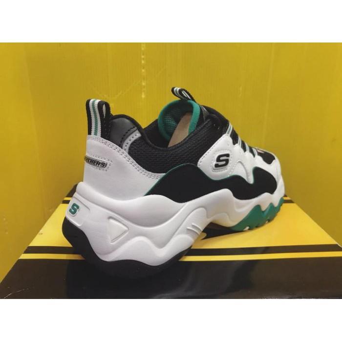SKECHERS D'LITES 3.0-ZENWAY 復古熊貓鞋 老爹鞋 老爺鞋12955WGRN 現貨