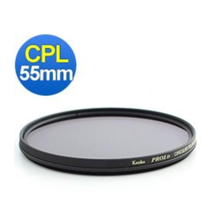 Kenko Pro1D CPL 廣角薄框環形偏光鏡 55mm 正成公司貨
