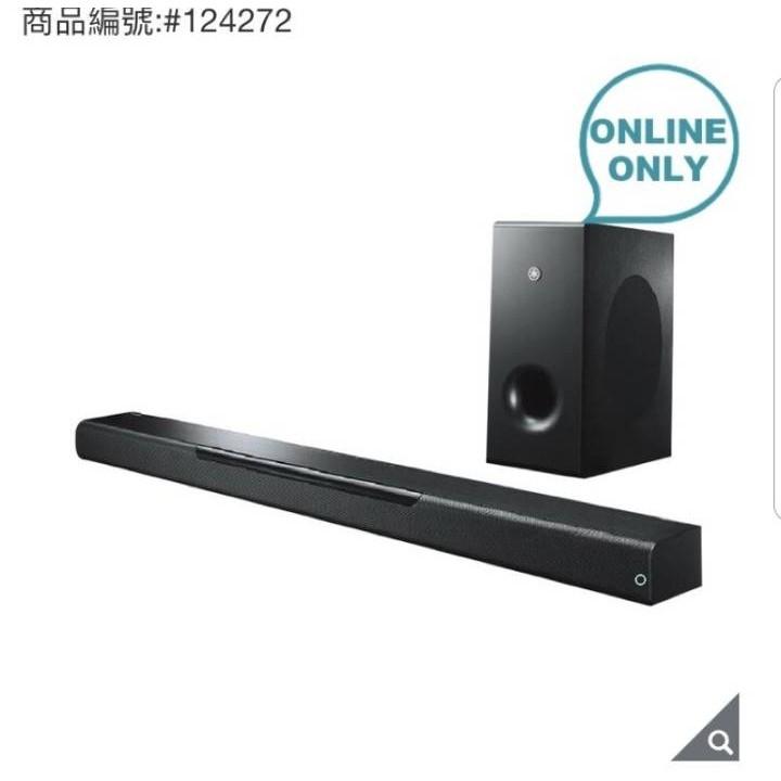 好市多 Yamaha Soundbar with Wireless Subwoofer ATS-4080