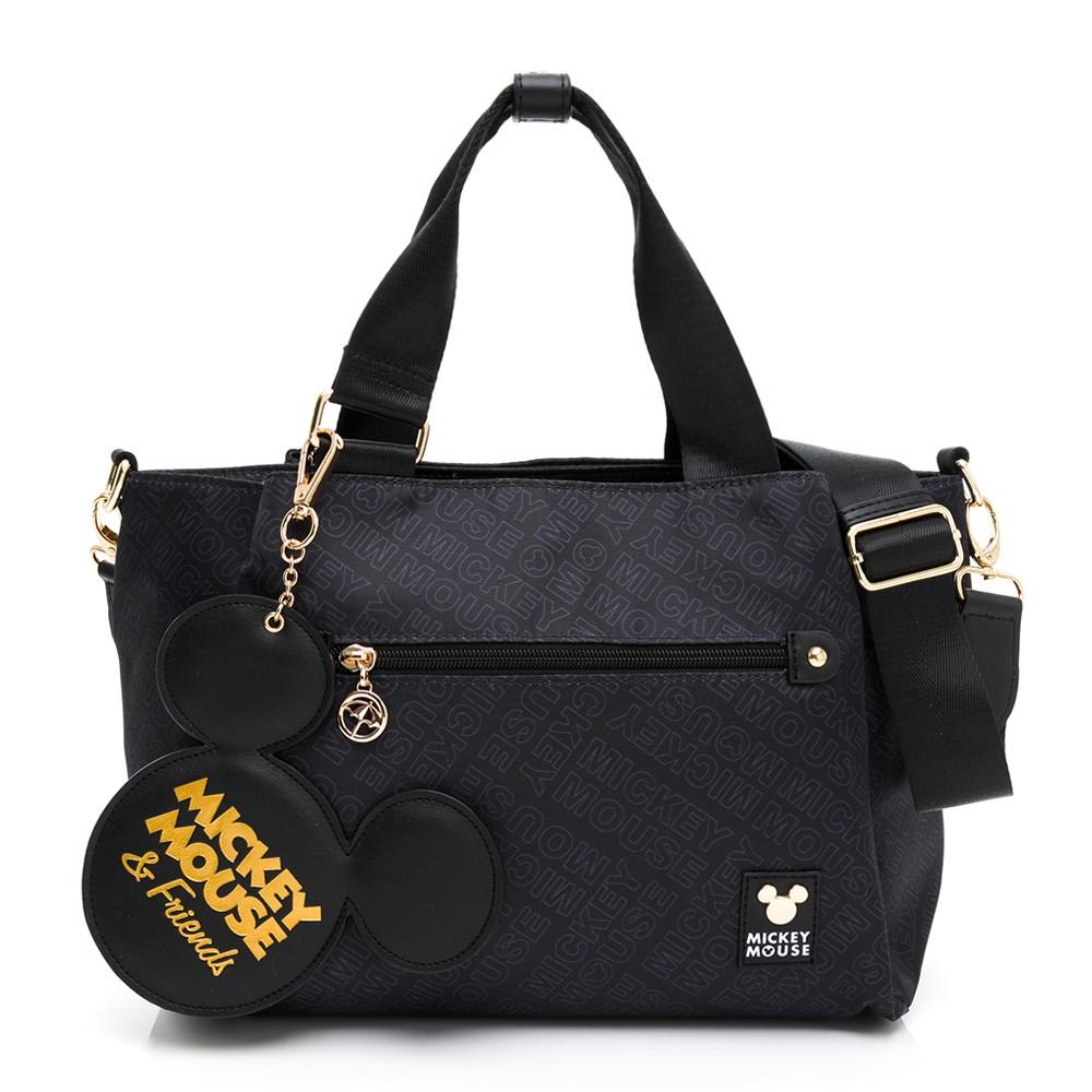 米奇系列 - Arnold Palmer - 手提包附長背帶 Icon系列 - 黑色
